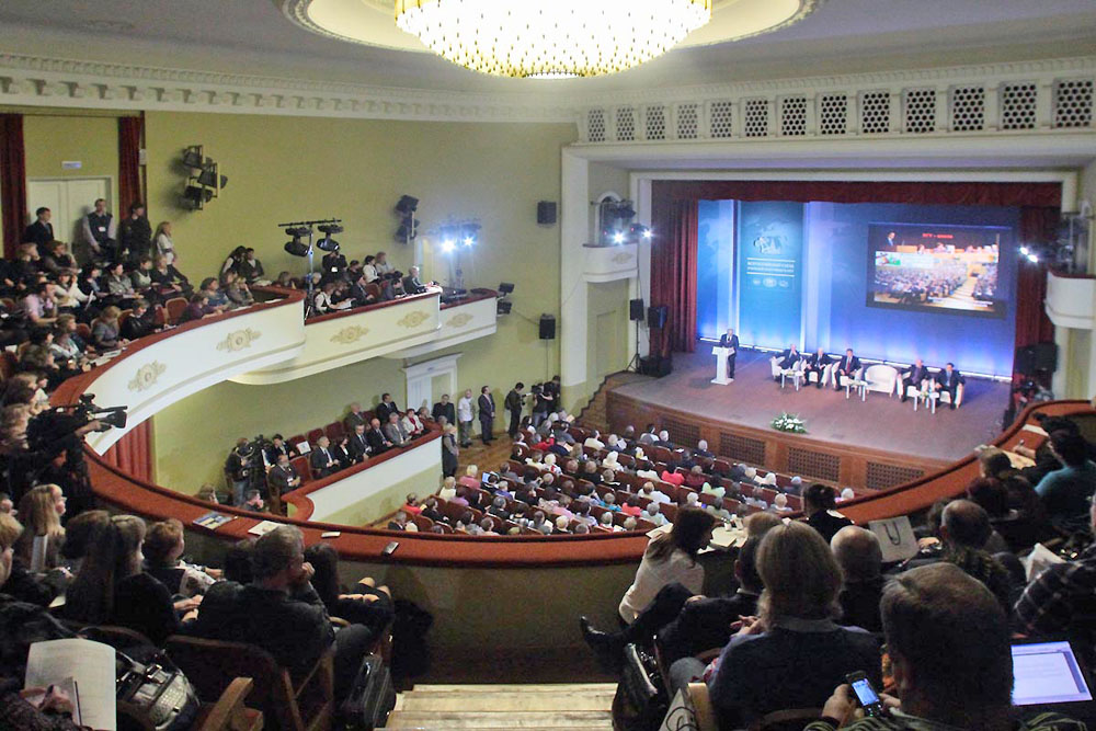 Актовый зал ГЗ, Зал ДК МГУ