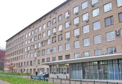 Схема расположения зданий МГУ