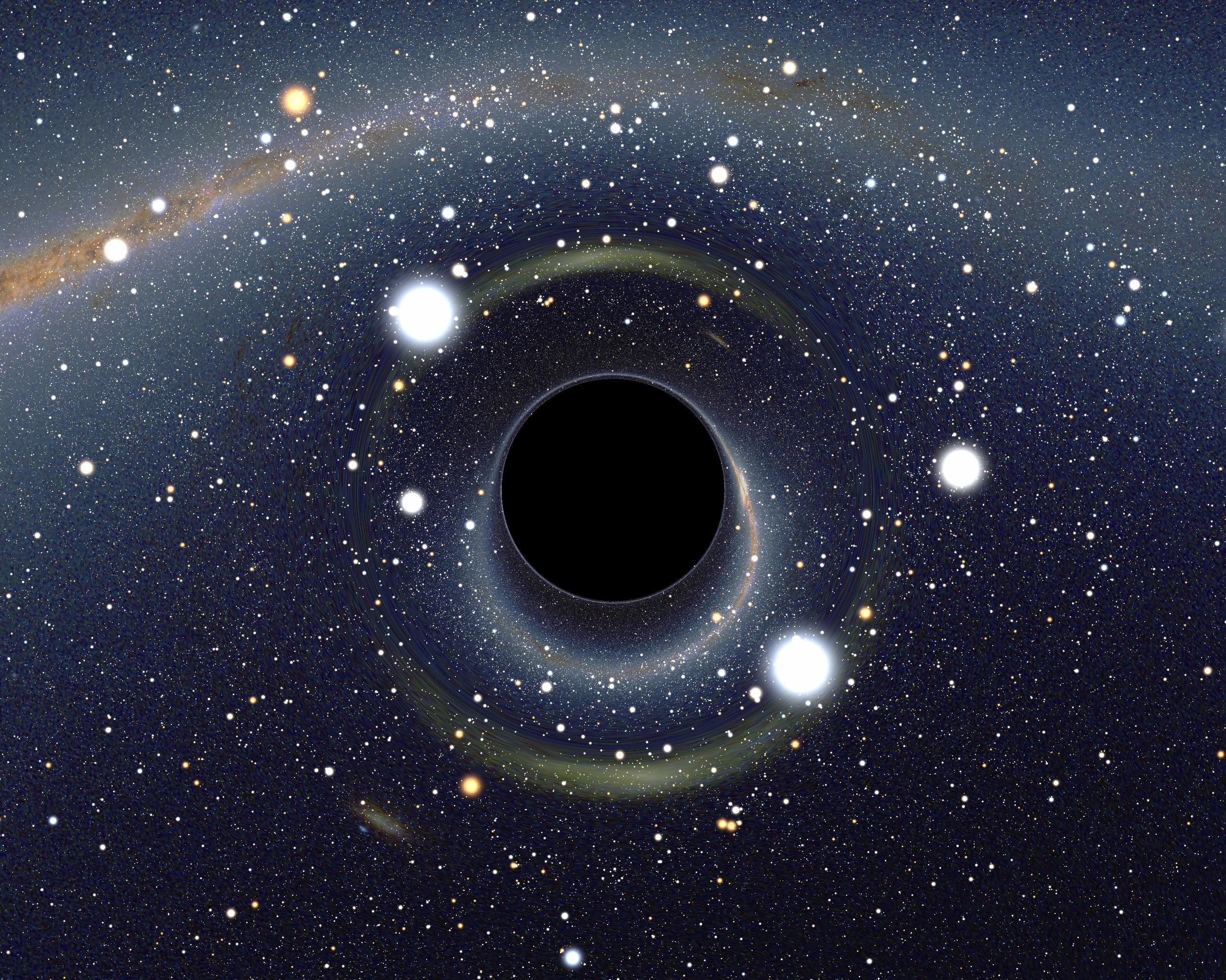Черную во все дыры