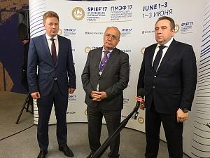 В.А.Садовничий на XXIПетербургском международном экономическом форуме