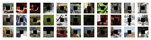 Исходный набор изображений для ретуши