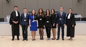 Победа команды юрфака на конкурсе по модели Международного уголовного суда
