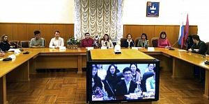 Телемост с МГУ−ППИ в Шэньчжэне