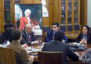 Встреча ректора с активом Студенческого совета МГУ