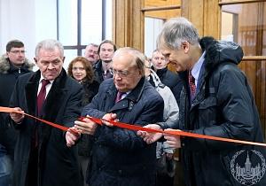Открытие легкоатлетического манежа МГУ